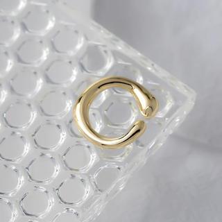 ザラ(ZARA)のPukkuri gold earcuff No.171(イヤーカフ)