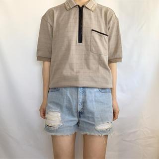 エムシーエム(MCM)のMCM 90s ハーフジップTEE(Tシャツ/カットソー(半袖/袖なし))
