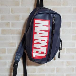 マーベル(MARVEL)の本日限定特別値下げMARVEL ボディバッグ 斜めがけ  男女兼用 新品同様(ボディーバッグ)