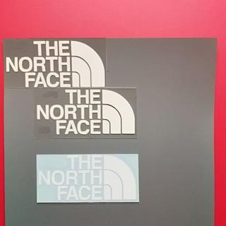 ザノースフェイス(THE NORTH FACE)の【デカールオマケ】THE NORTH FACEっぽい  アイロンプリントシート白(その他)