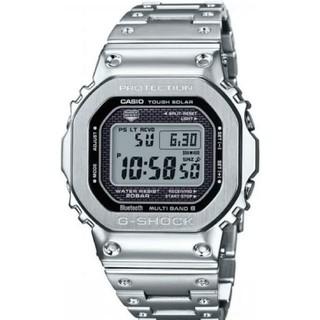 【新品未使用】G-SHOCK GMW B5000D-1JF フルメタルシルバー(腕時計(デジタル))