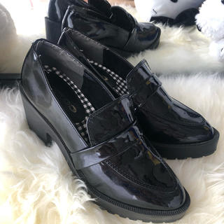WEGO - 厚底ローファー 盛れ靴