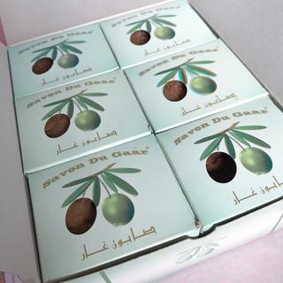 アレッポの石鹸 - アレッポ  200g 6個 オリーブソープ 無添加 ローレル シリア  石鹸