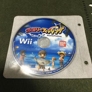 ウィー(Wii)のファミリーフィッシング wii(家庭用ゲームソフト)