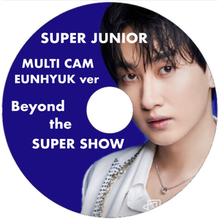 スーパージュニア(SUPER JUNIOR)のBeyond live マルチカム セット ウニョク メイン(アイドル)