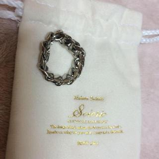 アクアガール(aquagirl)のsoierie ソワリー チェーンリング(リング(指輪))