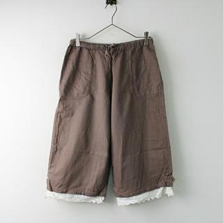 サマンサモスモス(SM2)の裾レース付きパンツ(その他)