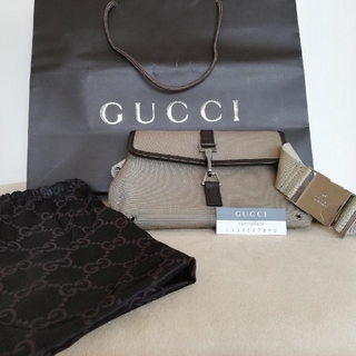 グッチ(Gucci)の【正規品】美品 GUCCI ボディバッグ ウェストバッグ(ウエストポーチ)
