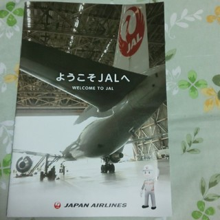 ジャル(ニホンコウクウ)(JAL(日本航空))のJALのパンフレットです。(ノベルティグッズ)