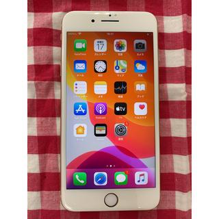 アップル(Apple)の【SIMロック解除済】ドコモ☆iPhone8Plus 256GB☆ゴールド☆美品(スマートフォン本体)