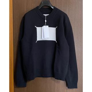 マルタンマルジェラ(Maison Martin Margiela)の20SS新品S メゾン マルジェラ Memory of ニット メンズ ブラック(ニット/セーター)
