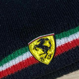 フェラーリ(Ferrari)の✨Ferrari✨ フェラーリニット子供用ボンネット✨(帽子)