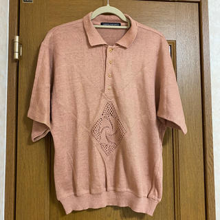 vintage summer knit polo     magliano(ニット/セーター)