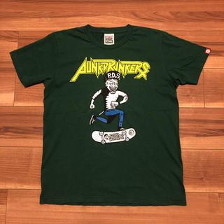 パンクドランカーズ(PUNK DRUNKERS)の【稀少‼️】パンクドランカーズ スケーター Anthrax Tシャツ Lサイズ(Tシャツ/カットソー(半袖/袖なし))