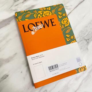 ロエベ(LOEWE)のラスト1【新品】LOEWE Paula's Ibiza ノートブック 3冊セット(ノート/メモ帳/ふせん)