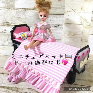 💖ミニチュア家具〜姫系ベッド(ブラック)〜💖(その他)