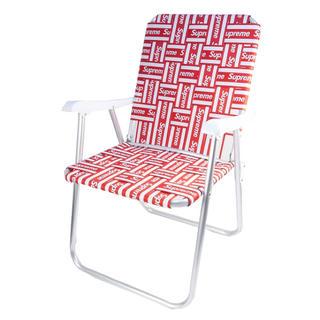 シュプリーム(Supreme)のsupreme シュプリーム lawn chair 折りたたみ椅子(折り畳みイス)