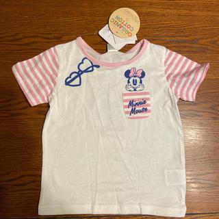 ディズニー(Disney)の子供袋 ミニーちゃんTシャツ(その他)