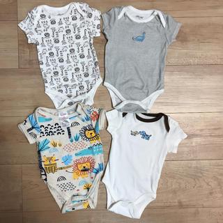 リトルミー(Little Me)の新生児から3カ月まで ベビー服 4枚セットリトルミー(ロンパース)