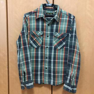 フェローズ(PHERROW'S)の好配色 UES ウエス チェックシャツ ネルシャツ(シャツ)