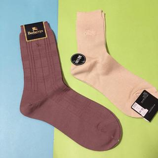 バーバリー(BURBERRY)の新品未使用  Burberry LONDON 靴下 ソックス(ソックス)