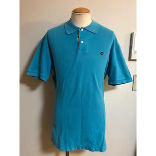 アベイシングエイプ(A BATHING APE)のア ベイシング エイプ ポロ シャツ L グリーンブルー XPV(ポロシャツ)