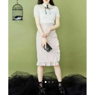 イートミー(EATME)のイートミー コルセットライクタイトスカート(ひざ丈スカート)