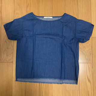 サニーレーベル(Sonny Label)のSonny Label デニムTシャツ カットソー (Tシャツ(半袖/袖なし))