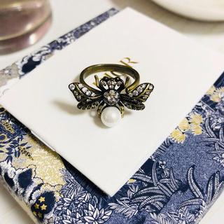 ディオール(Dior)の「1点のみ」DIOR 蜂リング 指輪 サイズ:11-12号(リング(指輪))