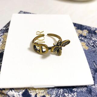 ディオール(Dior)の「売り切れ」DIOR  CD蜂リング 指輪(リング(指輪))