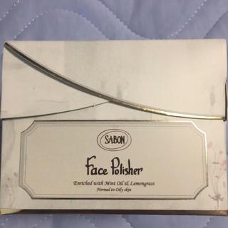 サボン(SABON)のSABON フェイスポリッシャー 新品未使用(ゴマージュ/ピーリング)