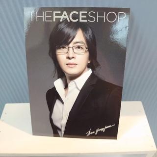 ザフェイスショップ(THE FACE SHOP)の【ペ・ヨンジュン】ポストカード(男性タレント)