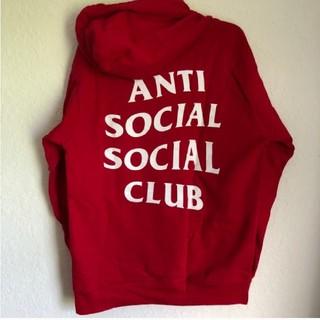 アンチ(ANTI)のANTI SOCIAL SOCIAL CLUB ASSC パーカー(パーカー)