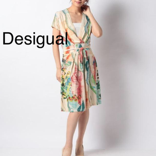 DESIGUAL - 新品✨定価12900円 デシグアル ワンピース 大特価‼️