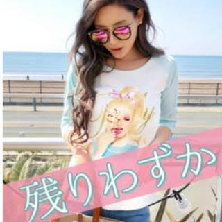 レディー(Rady)の新品未開封 Rady キャンディちゃんバイカラートップス(Tシャツ(長袖/七分))