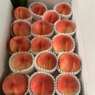 桃 あかつき 完熟 箱込み5キロほど。②(フルーツ)