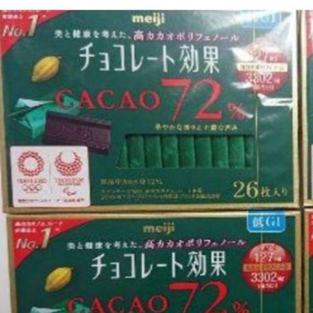 効果 明治 チョコレート