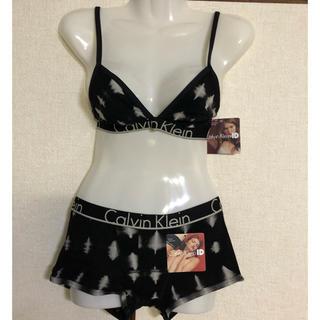 カルバンクライン(Calvin Klein)のカルバンクライン ブラ&ショーツ 上下セット 黒(ブラ&ショーツセット)