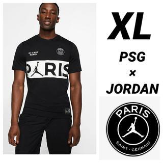 ナイキ(NIKE)のPSG JORDAN NIKE 半袖Tシャツ XLサイズ(Tシャツ/カットソー(半袖/袖なし))