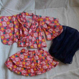 フタフタ(futafuta)の子供 浴衣ドレス 浴衣(甚平/浴衣)