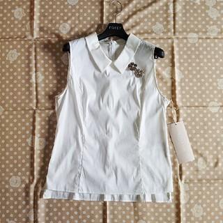 フォクシー(FOXEY)のデイジーリン for フォクシー シャツ ブラウス 42(シャツ/ブラウス(半袖/袖なし))