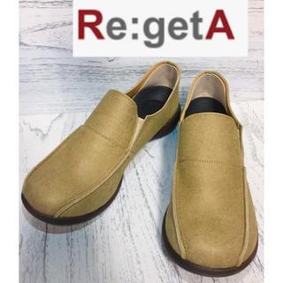 リゲッタ(Re:getA)のRe:getA リゲッタ スリッポン サイドエラスティック レディース 24cm(スリッポン/モカシン)