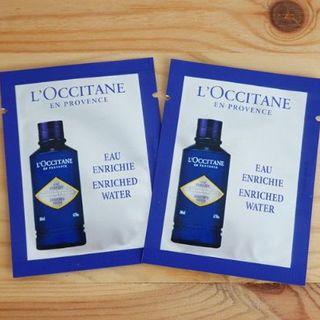 L'OCCITANE - ロクシタン 化粧水 サンプル 2点 L'OCCITANE  お試し