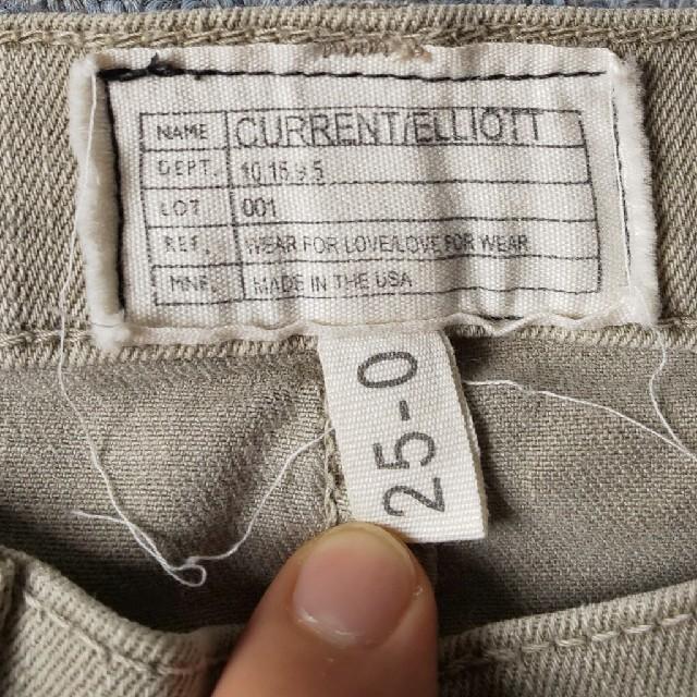 Current Elliott(カレントエリオット)のCURRENT ELLIOTT デニム レディースのパンツ(デニム/ジーンズ)の商品写真