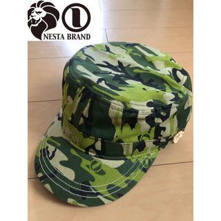 NESTA BRAND - 美品‼︎ 迷彩 カモフラージュ カモフラ ワークキャップ  帽子 ネスタブランド