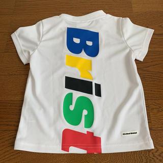 エフシーアールビー(F.C.R.B.)の今期完売品新品ブリストル ソフネット キッズ 白 Sサイズ95cm〜100cm(Tシャツ/カットソー)