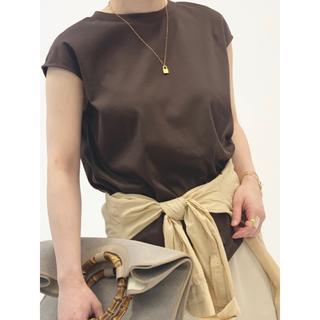 ノーブル(Noble)の美品★NOBLE SLEEVELESS LONG Tシャツ(Tシャツ/カットソー(半袖/袖なし))