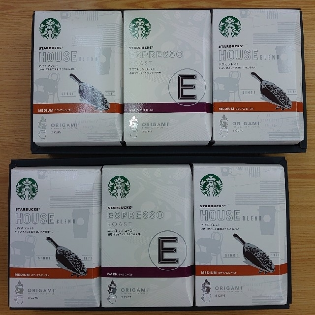 Starbucks Coffee(スターバックスコーヒー)のみらもも様専用スターバックス オリガミ パーソナルドリップギフト☓2 食品/飲料/酒の飲料(コーヒー)の商品写真