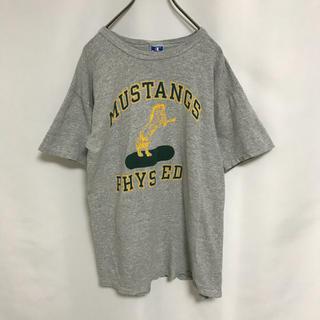 チャンピオン(Champion)の90' チャンピオン Tシャツ ヴィンテージ メンズ カットソー グレー(Tシャツ/カットソー(半袖/袖なし))