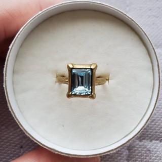 ジュピターゴールドレーベル(jupiter GOLD LABEL)のJupiter fairy ブルーストーンリング(リング(指輪))
